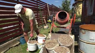 Садовые дорожки, как делаю я  Пару слов о выборе бетономешалки