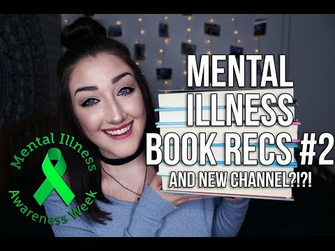 MENTAL ILLNESS BOOK RECS #2 + BIG ANNOUNCEMENT!!