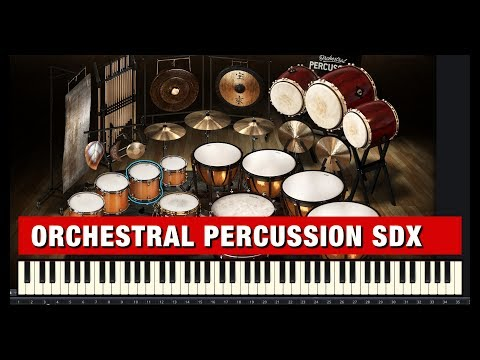 Orchestral Percussion SDX - Amazing Orchestral Percussion VST