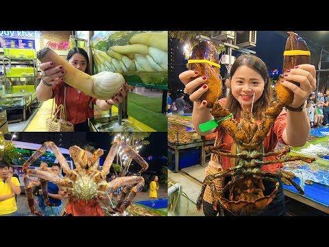 Phát hiện nhà hàng hải sản Chất nhất Đà Nẵng bán cua Hoàng đế và Tôm hùm khổng lồ | nhà hàng Làng cá