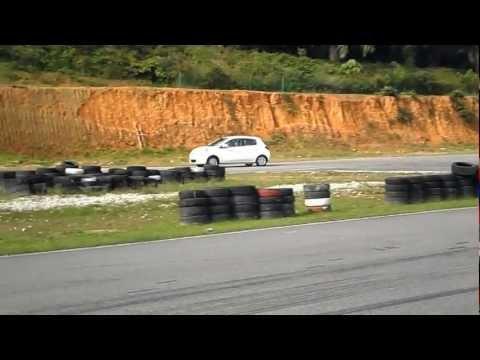 Mitsubishi Mirage in action