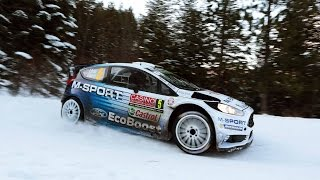 Rallying in Harsh Winter Conditions - FIA World Rally Championship 2015