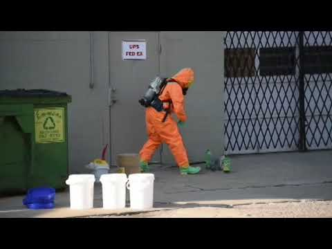 Meth Lab Cleanup On Pearl Street In Jackson