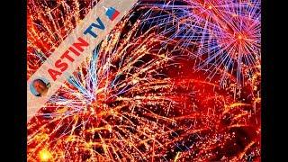 Новогодняя Москва 2020! Фейерверк! Новогодний Салют!