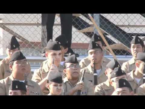 All Officers ROTC Ed W Clark High School Las Vegas 1-31-2012 (Great Video)