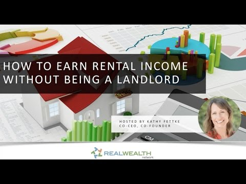 How to Earn Rental Income Without Being a Landlord?
