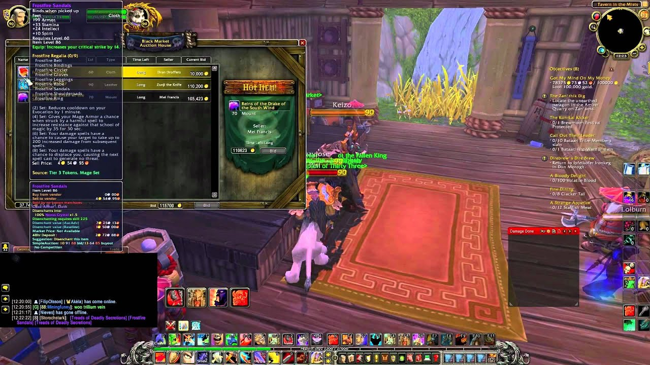 How to find the Black Market in Mists of Pandaria