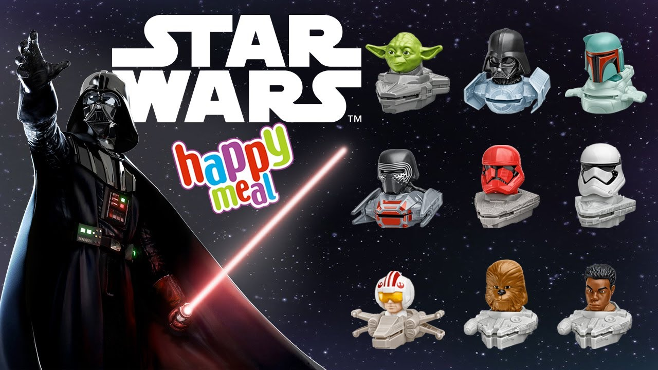 McDonalds Happy Meal Star Wars Toys 2021