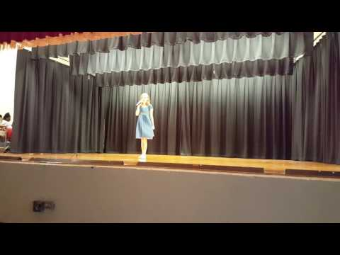 Riley Singing Burn From The Musical Hamilton.