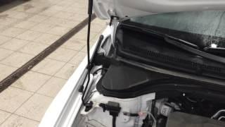 HYUNDAI ELANTRA AD ( New) 2016 Установка пневмоупоров капота от компании ПАТРИОТ