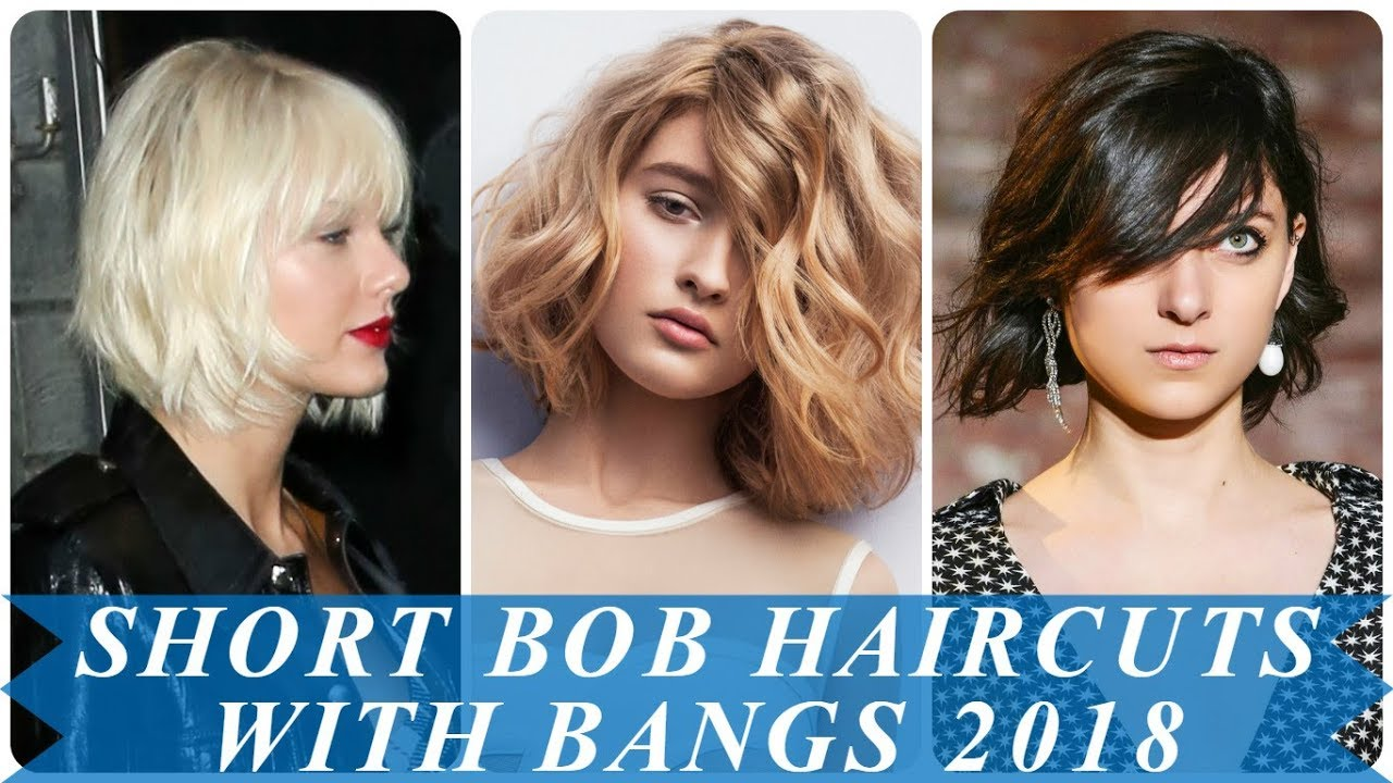 12 charming short hairstyles for women with bangs 12