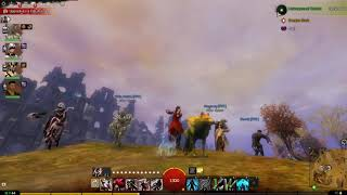 Guild Wars 2 - Dancing with the pals (Fua Fua Time)