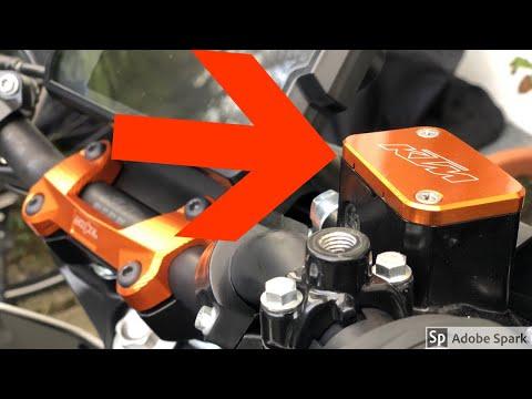 ktm-duke-125/-montage-bremsflüssigkeitsbehälter-deckel/track089