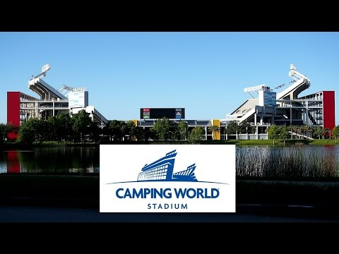 Driving around Camping World Stadium (Citrus Bowl) HD