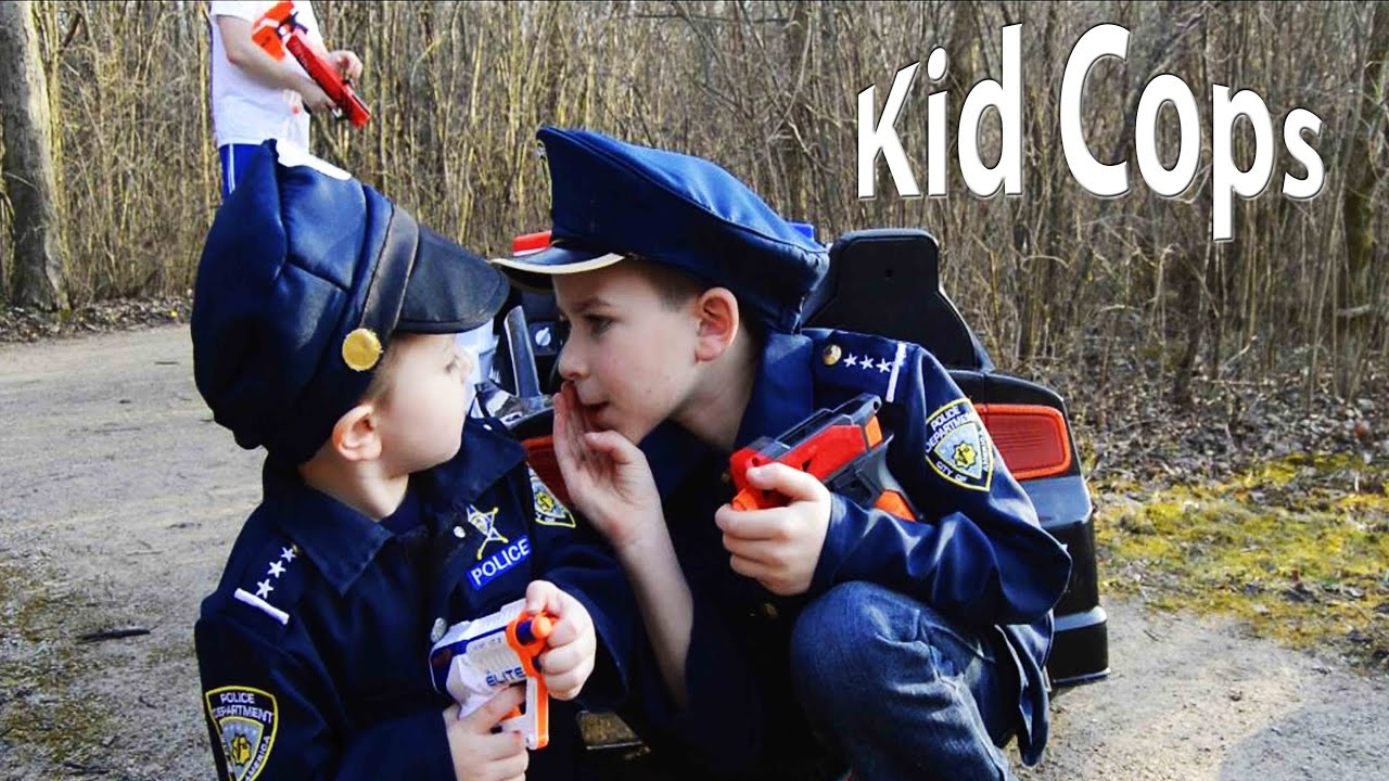 Sketchy Mechanic vs Kids!! Epic Kid Cops comedy video with Nerf guns and  silly prank!