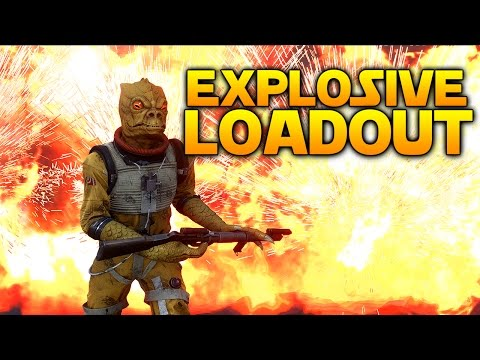 Star Wars Battlefront: THE EXPLOSIVE LOADOUT (Choose my loadout)