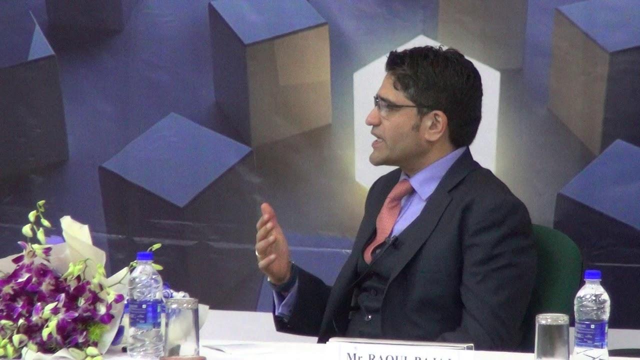 XLRI Leadership Series 2018- Mr  Raoul Bajaj, CEO, Trafigura India - Part  III of III
