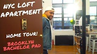 NYC Loft Apartment Tour, Brooklyn - 1000 Square Ft | 2019