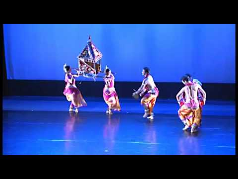 Aruna Mohanty and the Orissa Dance Academy at UT Dallas