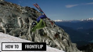 How To Frontflip Oฑ Skis
