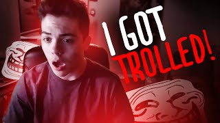 I GOT TROLLED!! Thumbnail