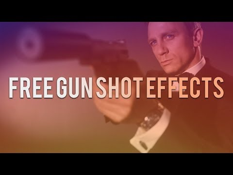 Gun Shot Effects -  FREE Sound Effects, Muzzle Flashes and Smoke!