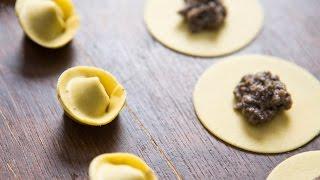 Recipe of Homemade Mushroom Tortellini