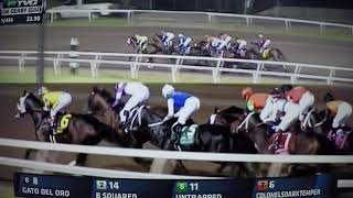 OKLAHOMA DERBY (G3)STAKES $400,000 -  2017 - UNTRAPPED !!!