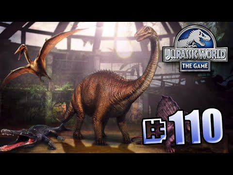 Dinosaur Party! || Jurassic World - The Game - Ep 110 HD
