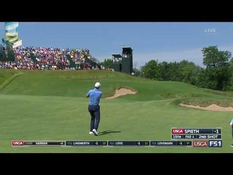 Jordan Spieth's Superb Golf Shots 2017 US Open USGA Erin Hills