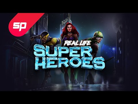 Real Life Super Heroes Casino Game   Spinmatic