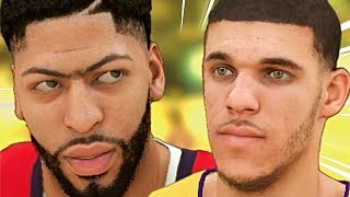 LONZO BALL'S LAKERS MYCAREER: Anthony Davis Gets Revenge
