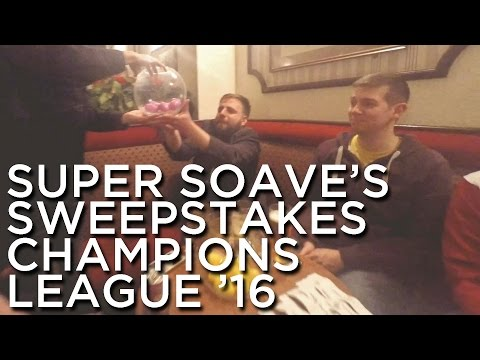 2016-02-04 'Super Soave's Sweepstakes: Champions League 2016'