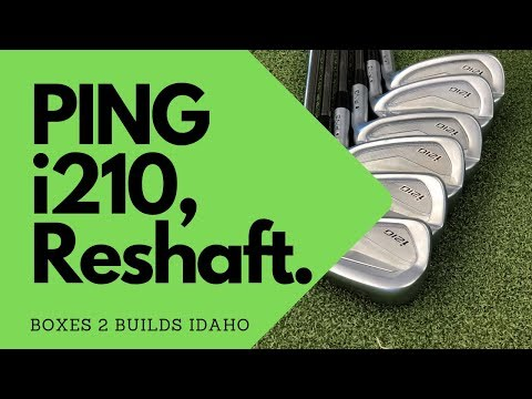 Golf Club Repair, PING I210 To Idaho