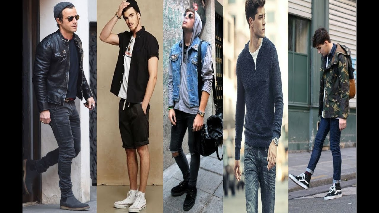 Men Fashion Street Style 2018 Part 7 Youtube