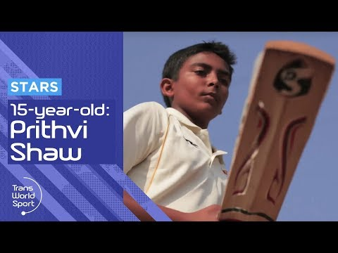 15 year-old Prithvi Shaw: The Next Sachin Tendulkar?
