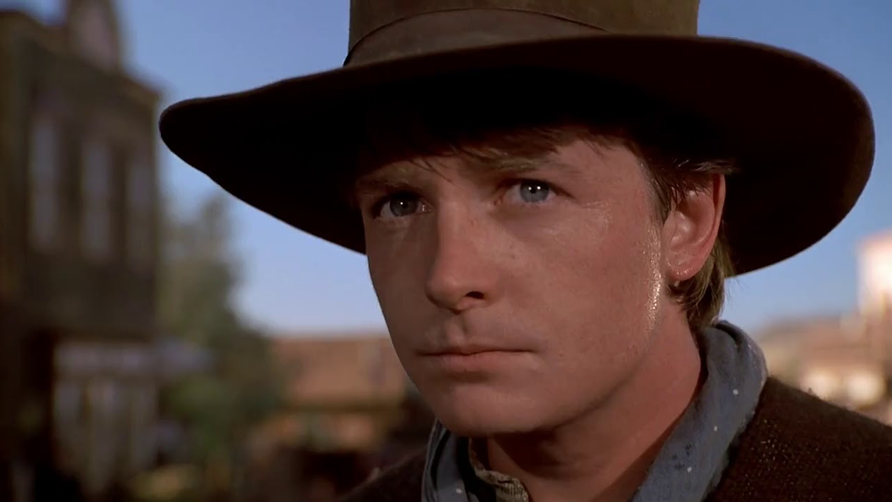 Back to the Future Part III/Best scene/Michael J. Fox/Marty McFly ...