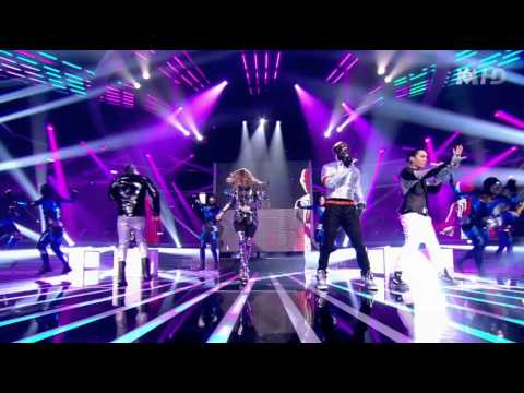 Black Eyed Peas - Don't Stop The Party (Live at The Time XFactor France)