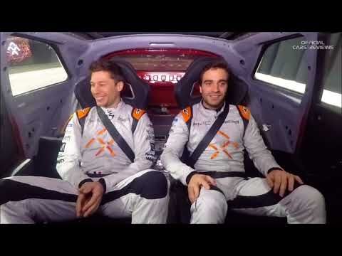 Faraday Future FF 91 Dynamic Drive Experience | Formula E Driver Ride Along