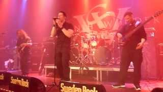 Seventh Wonder - Alley Cat - live @ the Sweden Rock Cruise 12-April-2013