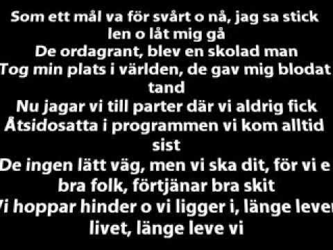 Ison & Fille - Länge leve vi [LYRICS]