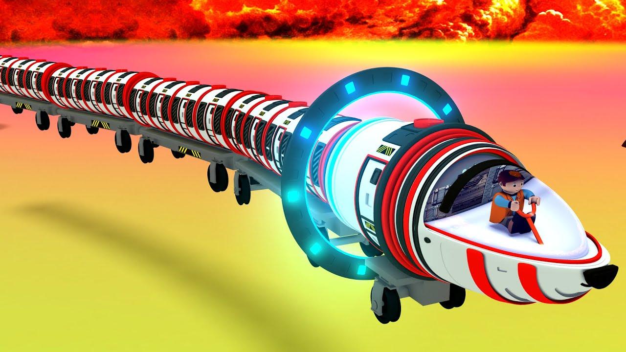 The Search for Aliens - Toy Factory Choo Choo Cartoon Train