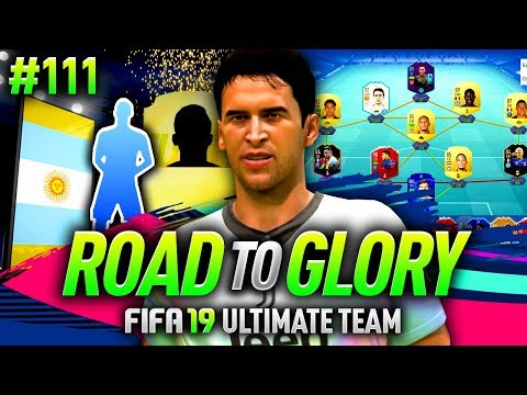 FIFA 19 ROAD TO GLORY #111 - AMAZING PACK LUCK!