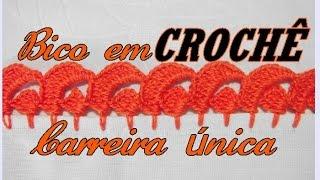 Repeat youtube video BICO EM CROCHÊ CARREIRA ÚNICA
