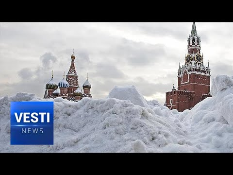 Snowfall of the Century: Moscow Experiences a Little Ice Age After Three Straight Days of Storm