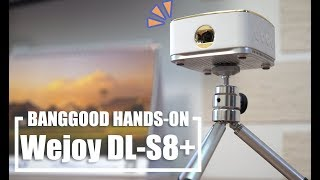 BEST PORTABLE DLP PROJECTOR - based on Android OS ( Review ) video projector