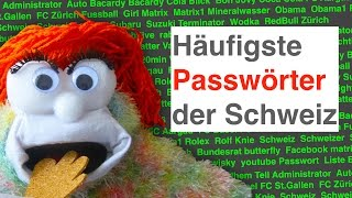Checker 007 - Häufigste Passwörter der Schweiz - #Datenschutz & Privacy / Datensicherheit - Hacker