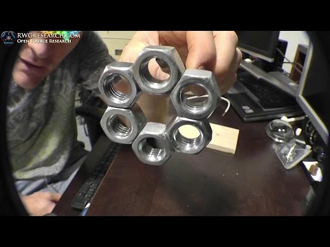 """Oh Nuts!"" Magnetic Lock.Your Going To Like! Using The Principles Of Ed Leedskalnin PMH.Must Watch"