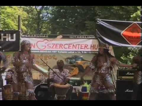 African Melody Band - Guiness Concert - Part 1/4