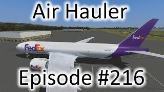 FSX | Air Hauler Ep. #216 - Port of Spain to Rio de Janeiro | 777F